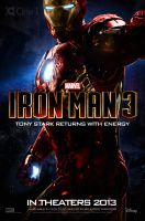 Iron Man 3 - Poster 2 by jphomeentertainment
