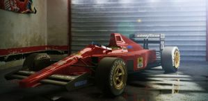 Ferrari F1/89 by smokey-vee