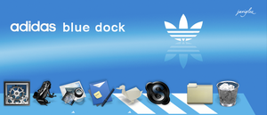 Adidas Blue Dock by JaviGlez