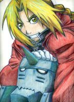 FMA: Ed and Al by ArbitraryJane