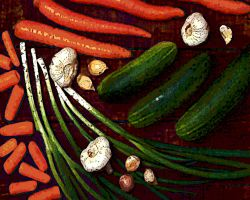 vegetables by ChaelMontgomery