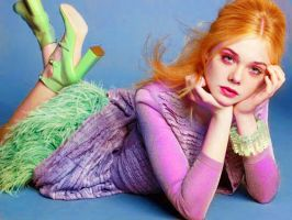 Elle Fanning/ Daphne (Scooby Doo) by Jade-the-lover
