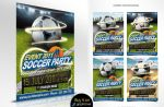 Football flyer event by oblik50