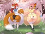 Cherry Blossom Booties by MW-Magister