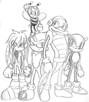 The Chaotix by TriforceTetra