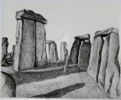 Ghosts of Stonehenge by SLSistrunk