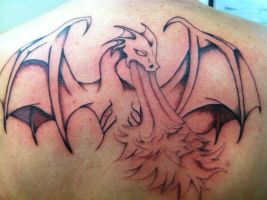 1st Session Dragon Tattoo by griffarion