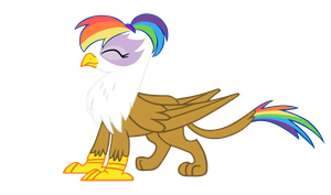 Rainbow Feather by wnaspp