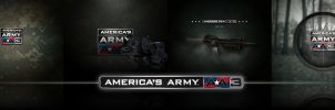 America'sArmy3 Wallpaper Pack by Falco101