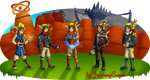 The Evolution of Jak and Daxter by JennissyCooper