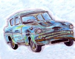 Ford Anglia by blastedgoose