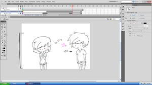 ''You + Her'' OMG IM WORKING ON SOMETHING by momino