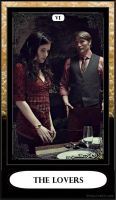 Hannibal Tarot: VI - The Lovers by DarkFairyoftheWood
