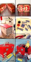 Electrical tool box step-by-step by Verusca