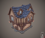 Low poly house by antonio-jn