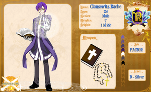 MH: Clausewitz Rache - D Silver by MikiTakamoto