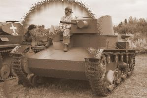 The tank 7TP by Su58