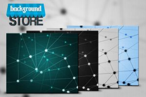 Network Background by BackgroundStore