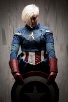 Captain America Genderswap Cosplay by imatangelo
