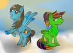 .:Request:. Ponies by Team-Butch