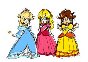 Super Princesses by Trent-Michaels
