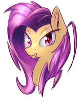 Flutterbat paint by kawaiipony2