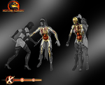 X-Ray Skeletons Pack 2 - Mortal Kombat 9 by romero1718