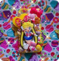 Sailor Moon Decoden Case 2 by TiffyyyCuppyCake