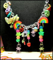 Kandi Raver Necklace II by GrandmaThunderpants