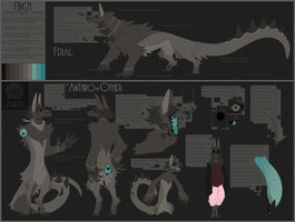 (old) Finch Character Sheet v4 by Dusty-Demon