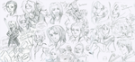 Skyrim Sketches 2 by the-Orator