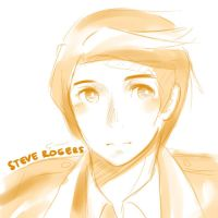 Avengers - 002 Steve doodle by Yousachi
