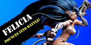 Felicia in SSB4?! by monkeyhero0