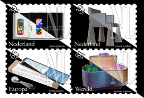 Stamps: Dutch design. by Mawk-G