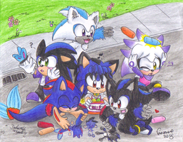 Kids play day by sonicartist16