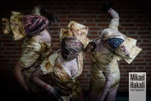 Silent Hill Nurses by LauraCraftCosplay