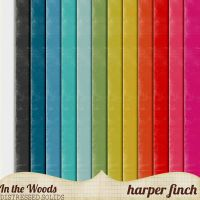 In the Woods Solids by Harper Finch by harperfinch