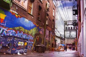 Vancouver Alleys by hesitation