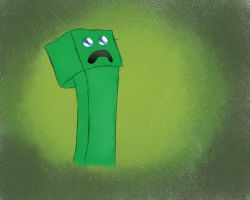 Creeper - Forever Alone by TesterkaGier