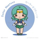 Sailor Neptune - Vector Chibi by yumkeks