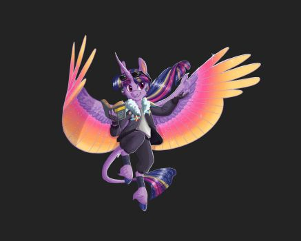 Twilight Sparkle: T-shirt design by Earthsong9405