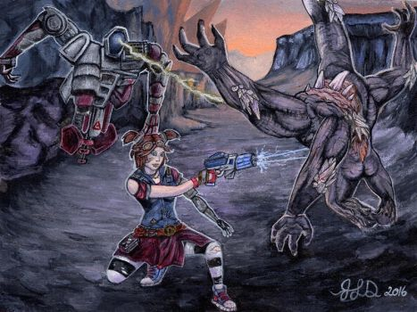 Gaige the Mechromancer by Bewildermunster