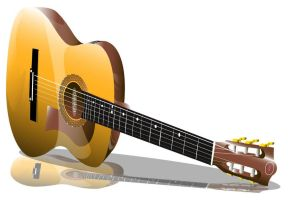 "guitar vector 2"" by oblivious-art"