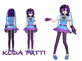 MMD Model - Koda Tutti by Mayuen