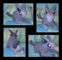 Espeon Plush by PokemonMasta