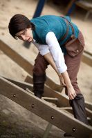 Nooo I am stuck - Flynn Rider - by Shiru-Mahoono