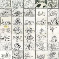The Ren and Stimpy storyboard by CanalChileTelevision