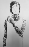 Mitch Lucker by youbesonicimtails