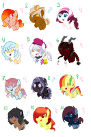 My pegasi as babies 1 by Sarahostervig