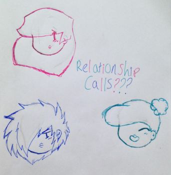 ~ Ninjago OCs - Relationship calls? ~ by Okay-cool